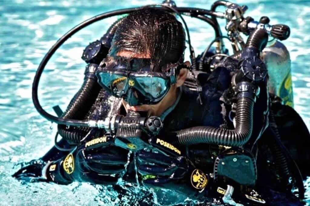 SSI CCR Diver Kurs in Phuket