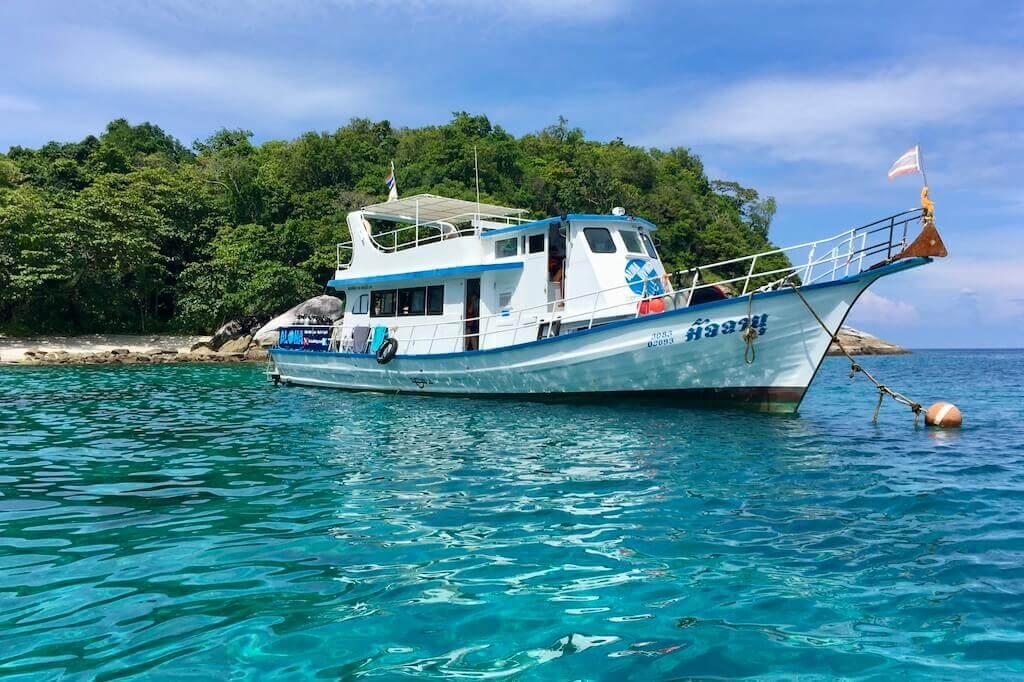 Open Water Diver Kurs Freiwassertauchgänge in Phuket