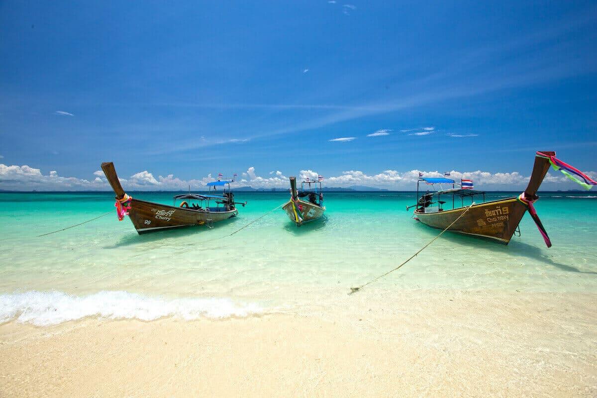 Tauchen und Inselhüpfen in Thailand