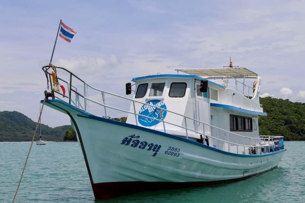 Deutschsprachiger Advanced Open Water Diver Kurs mit der besten Tauchschule in Thailand