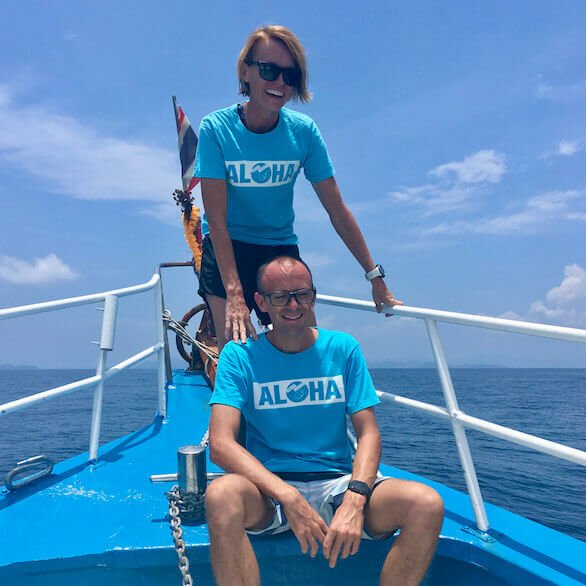 About Us the owners of Aloha Diving
