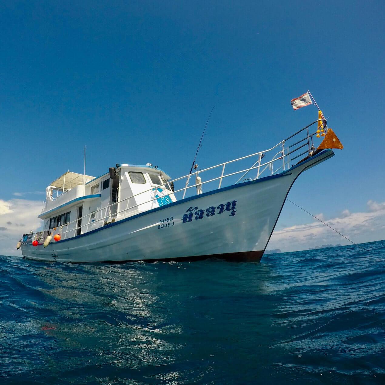 Phuket Dive Boat