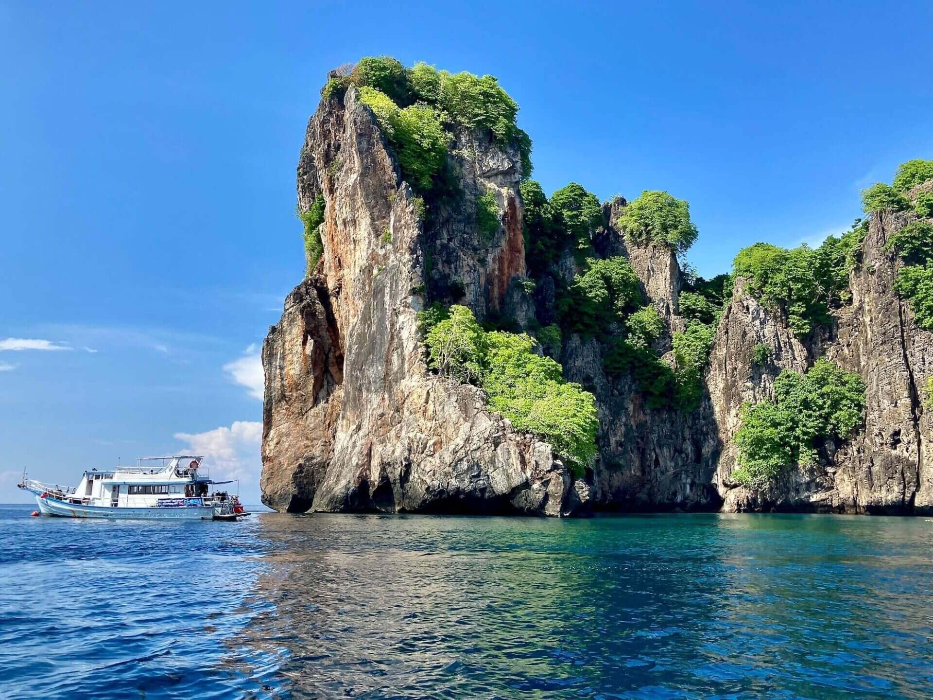 Dive Boat in Phuket