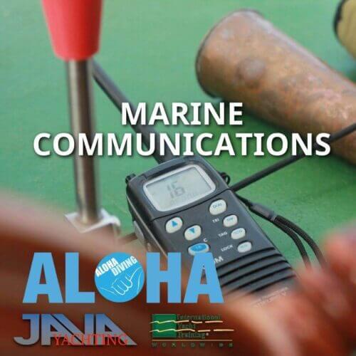 Marine Comunications VHF : HF