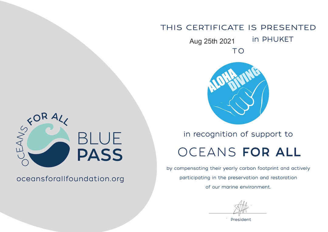 Blue Pass - Oceans for all